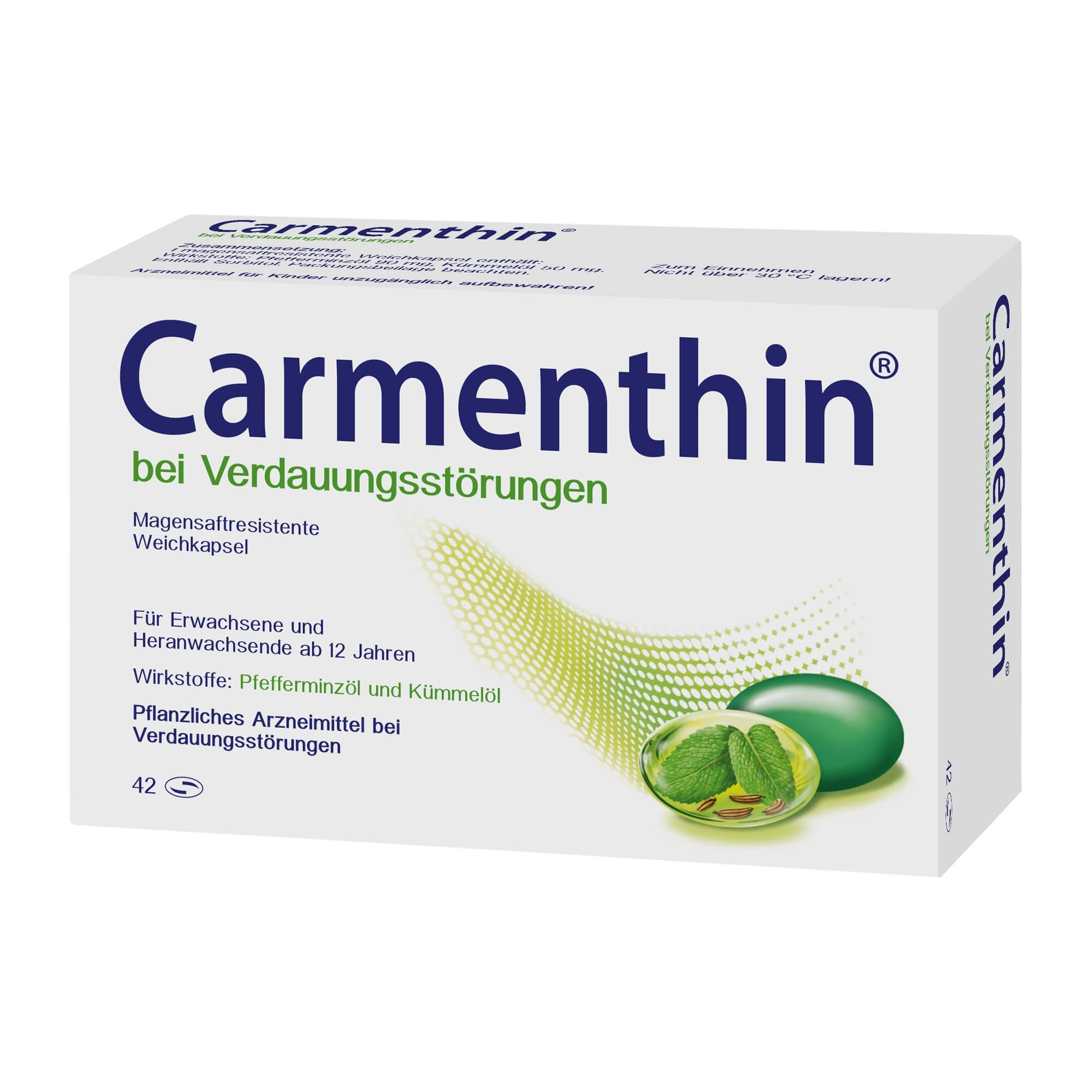 Carmenthin bei Verdauungsstörungen, 42 St