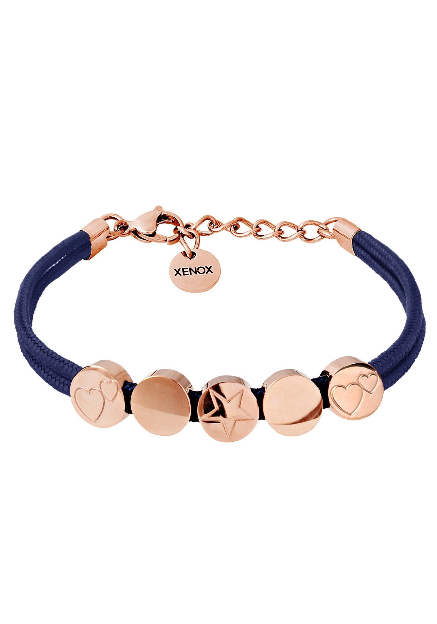 XENOX Armband »Herzen, Stern, Symbolic Power, X2753R«