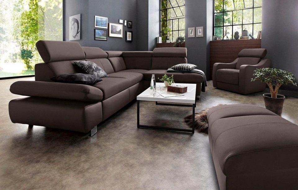 exxpo - sofa fashion Polsterecke, wahlweise mit ...