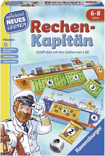 Ravensburger Spiel, »Rechen-Kapitän«, Made in Europe, FSC® - schützt Wald - weltweit