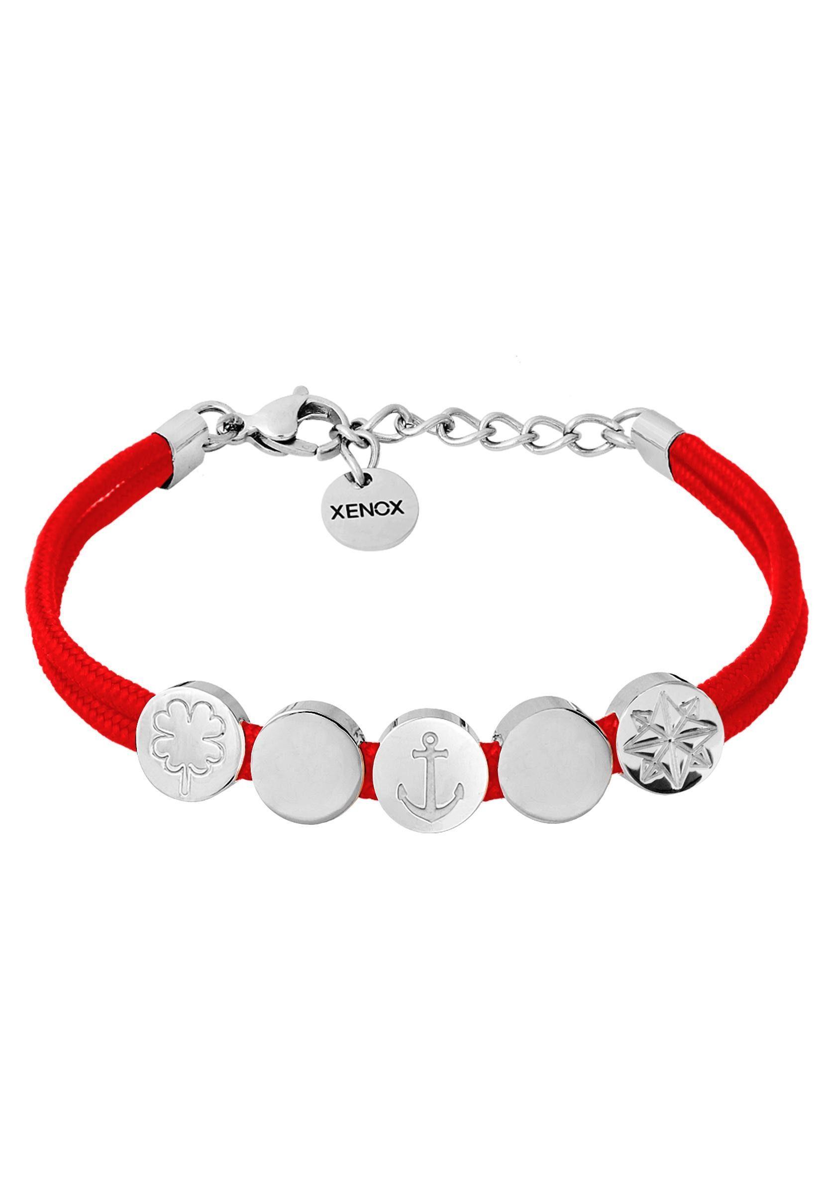 XENOX Armband »Kleeblatt, Anker, Stern, Symbolic Power, X2751«