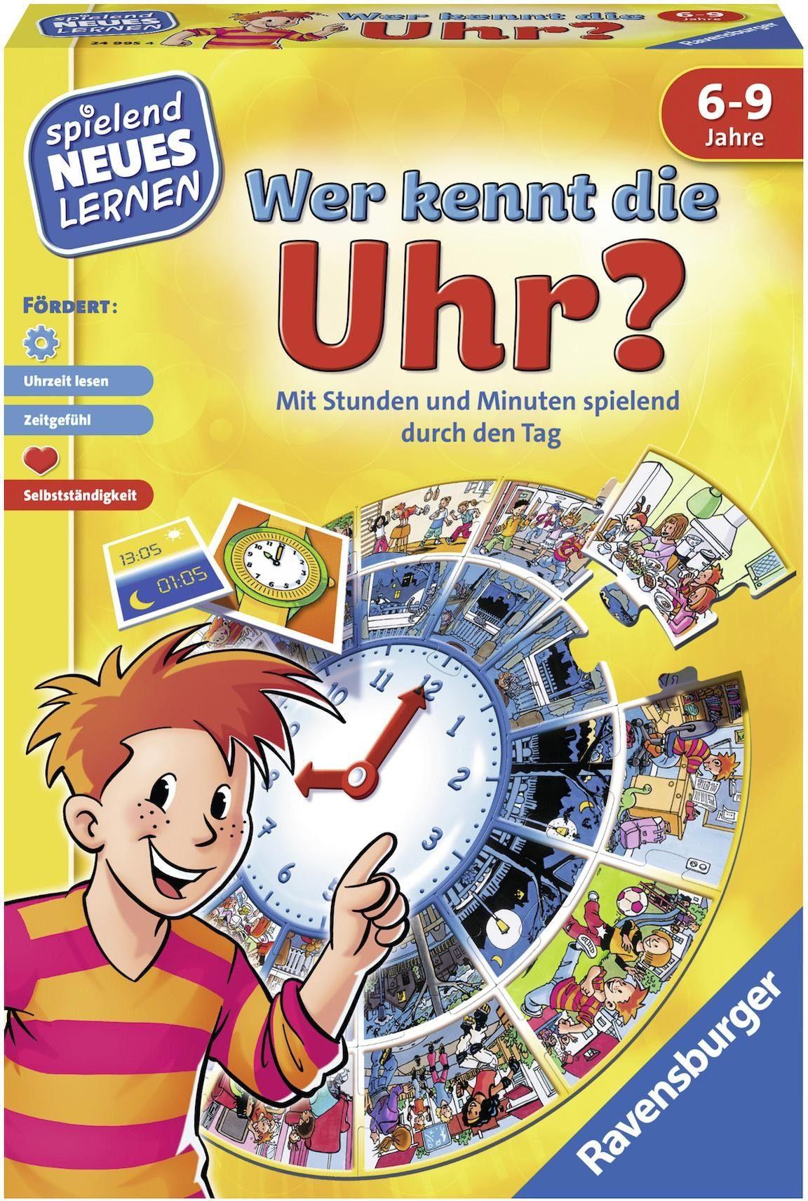Ravensburger Kinderspiel, »Wer kennt die Uhr?«