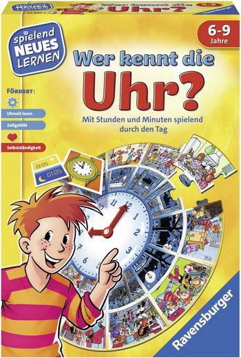 Ravensburger Spiel, »Wer kennt die Uhr?«, Made in Europe, FSC® - schützt Wald - weltweit