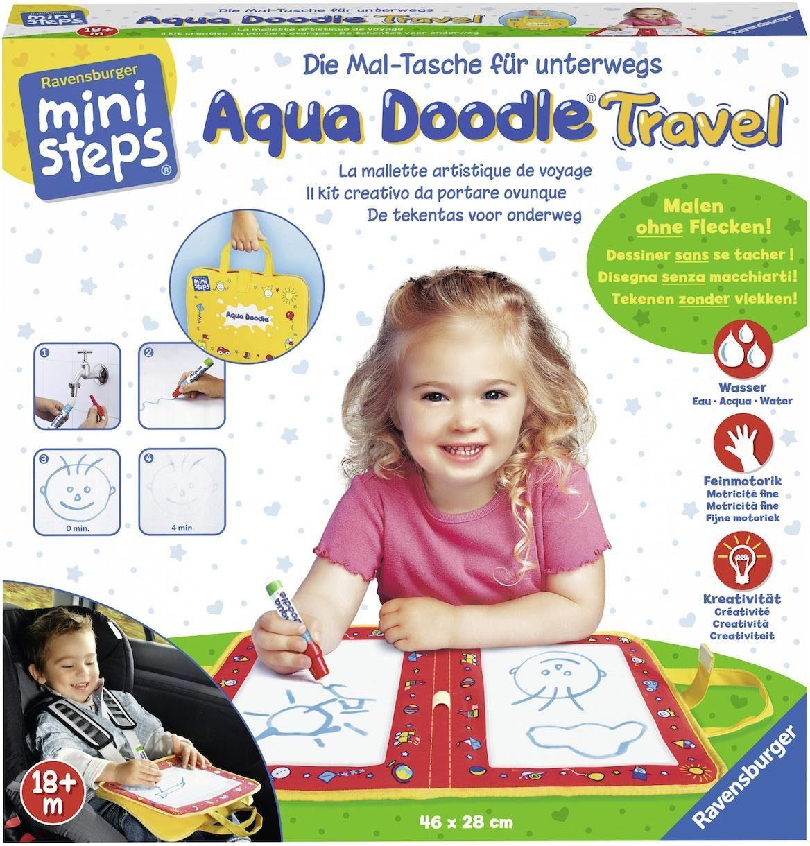 Ravensburger Malmatte, »ministeps® Aqua Doodle® Travel«
