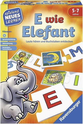 Ravensburger Spiel, »E wie Elefant«, Made in Europe, FSC® - schützt Wald - weltweit