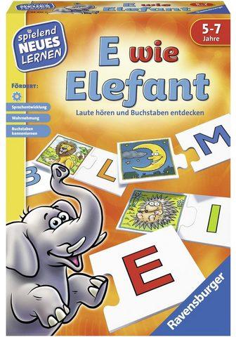"""Spiel """"E wie Elefant"""""""