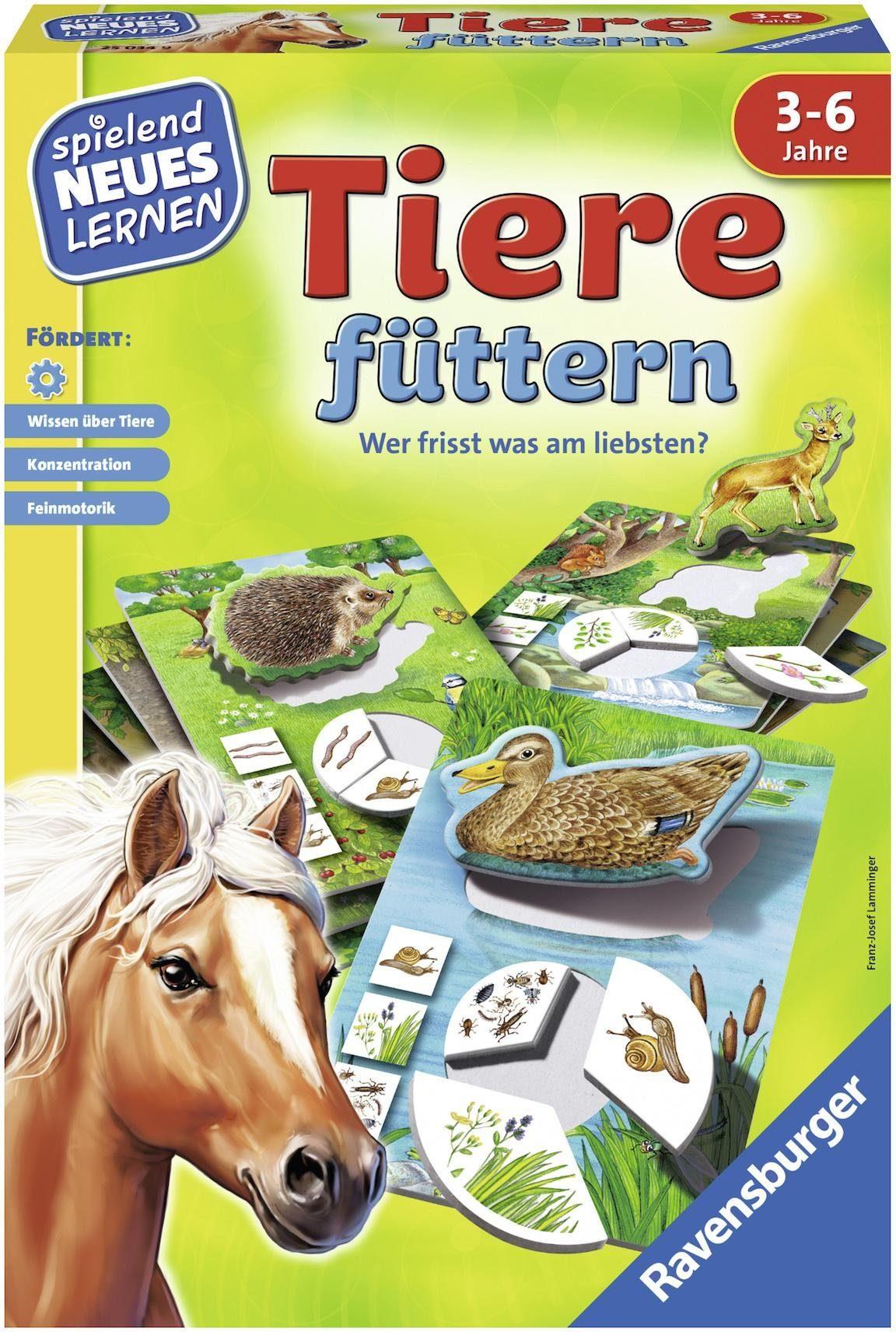 Ravensburger Kinderspiel, »Tiere füttern«