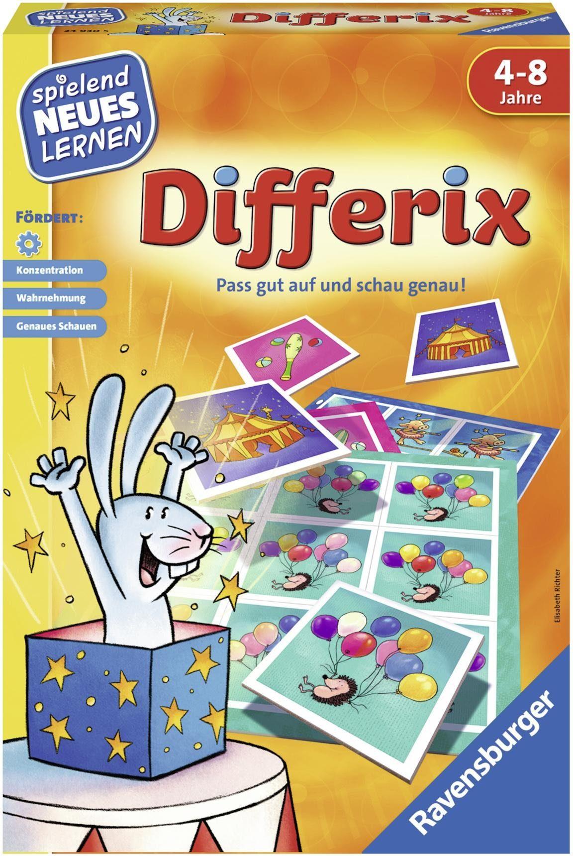 Ravensburger Kinderspiel, »Differix«