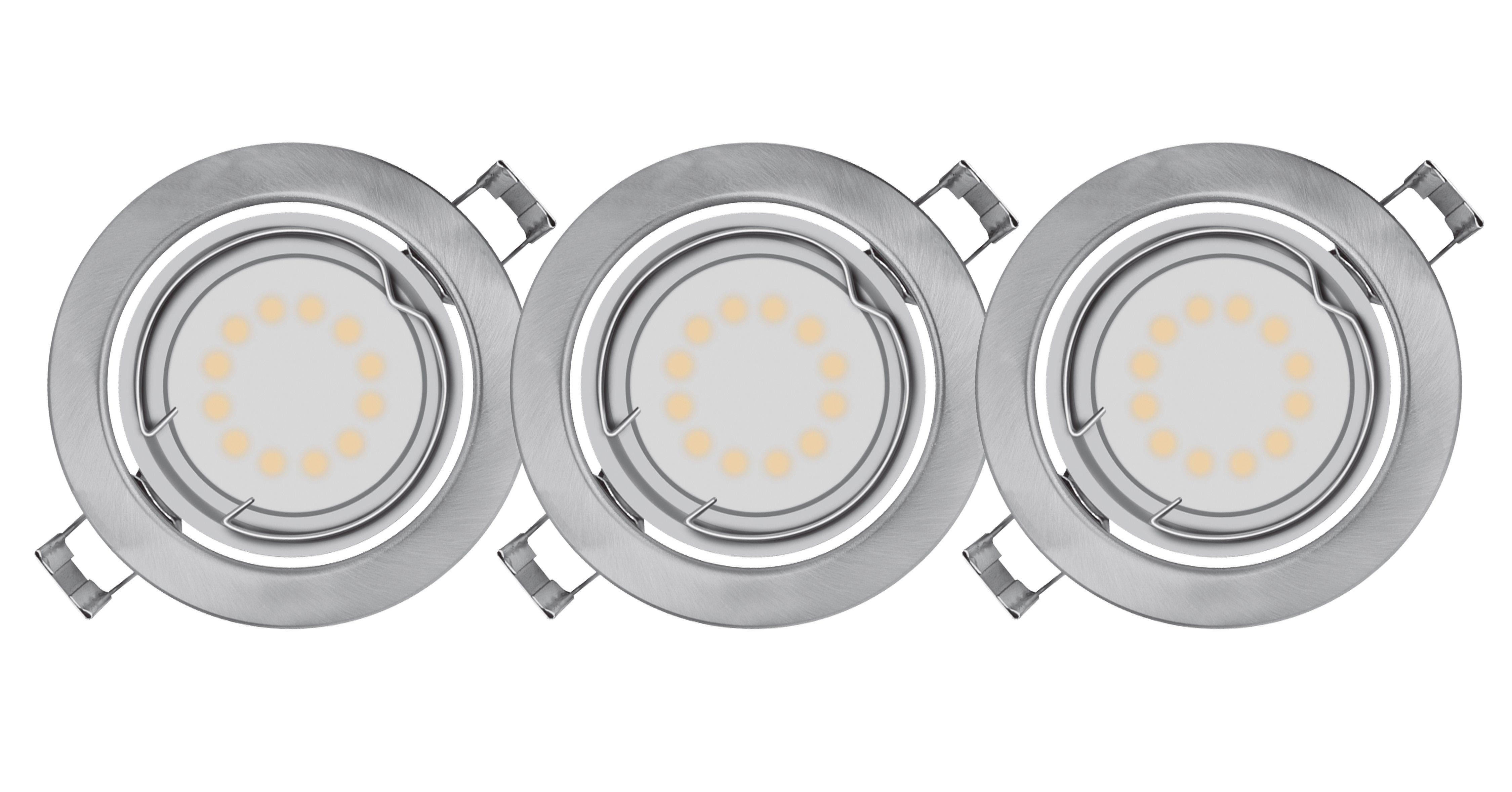 Osram Einbaustrahler für LED-Reflektorlampen, GU10-Sockel »LED DOWNLIGHT SET 3 x 3 W 827«