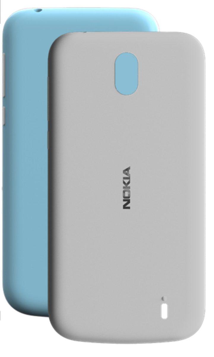 Handytasche »X-Press-On-Cover Dual Pack für NOKlA 1«