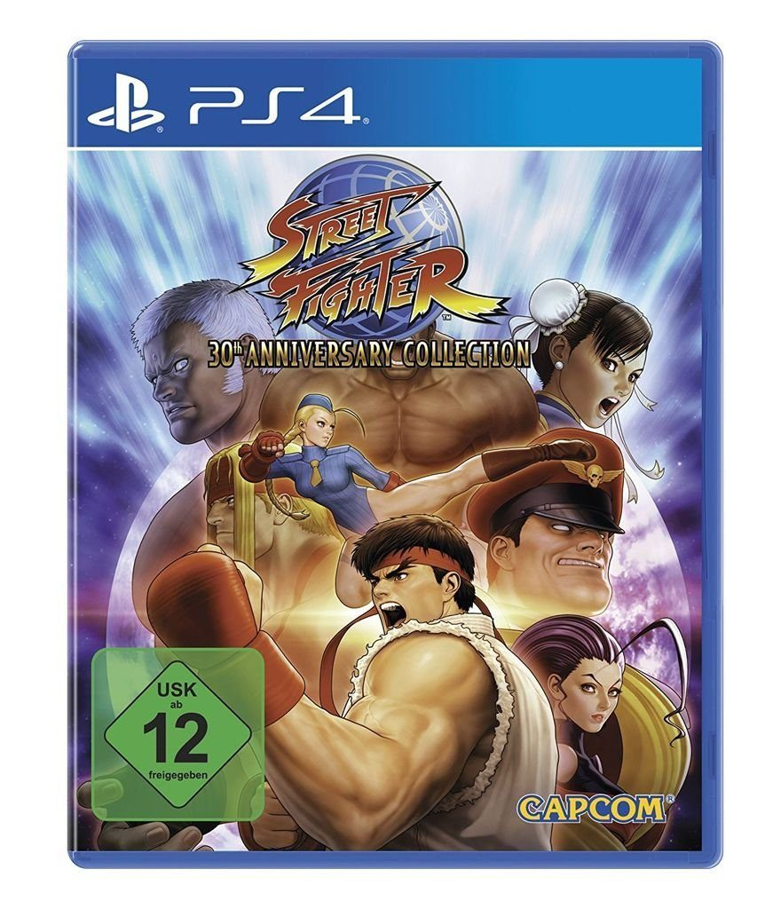 Capcom Playstation 4 - Spiel »Street Fighter Anniversary Collection«