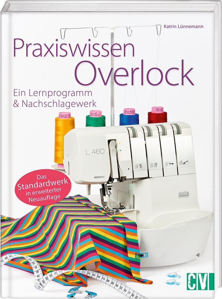 """Buch """"Praxiswissen Overlock"""" 96 Seiten"""