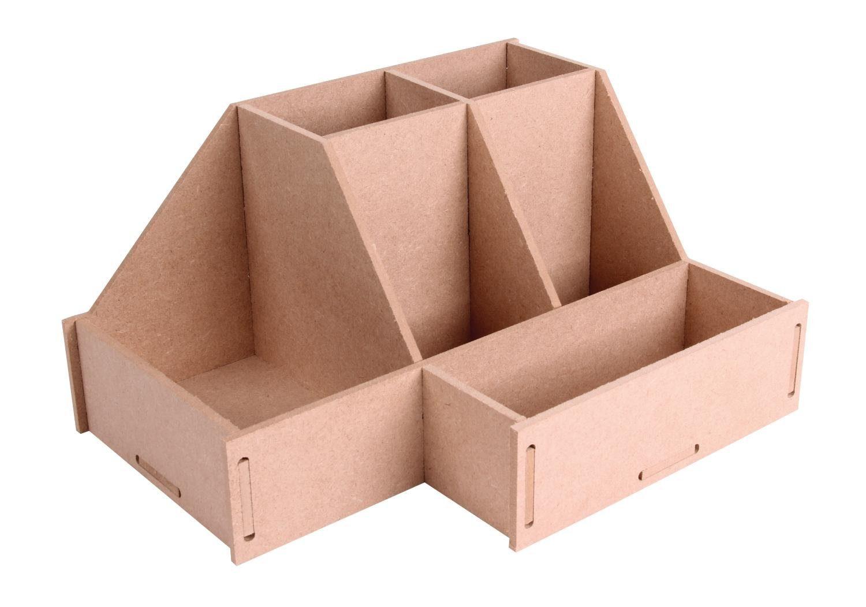 """Schreibtisch-Organizer """"Toolbox"""" 6 Fächer"""