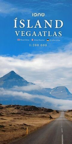 Broschiertes Buch »Iceland Road Atlas 1 : 200 000«