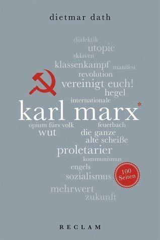 Broschiertes Buch »Karl Marx. 100 Seiten«