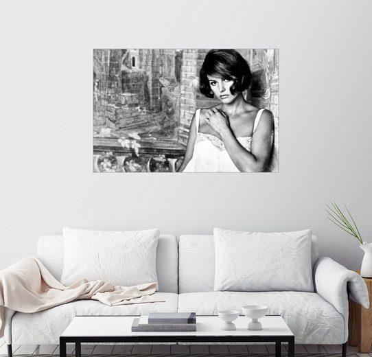 Posterlounge Wandbild »Die Gleichgültigen, Claudia Cardinale«