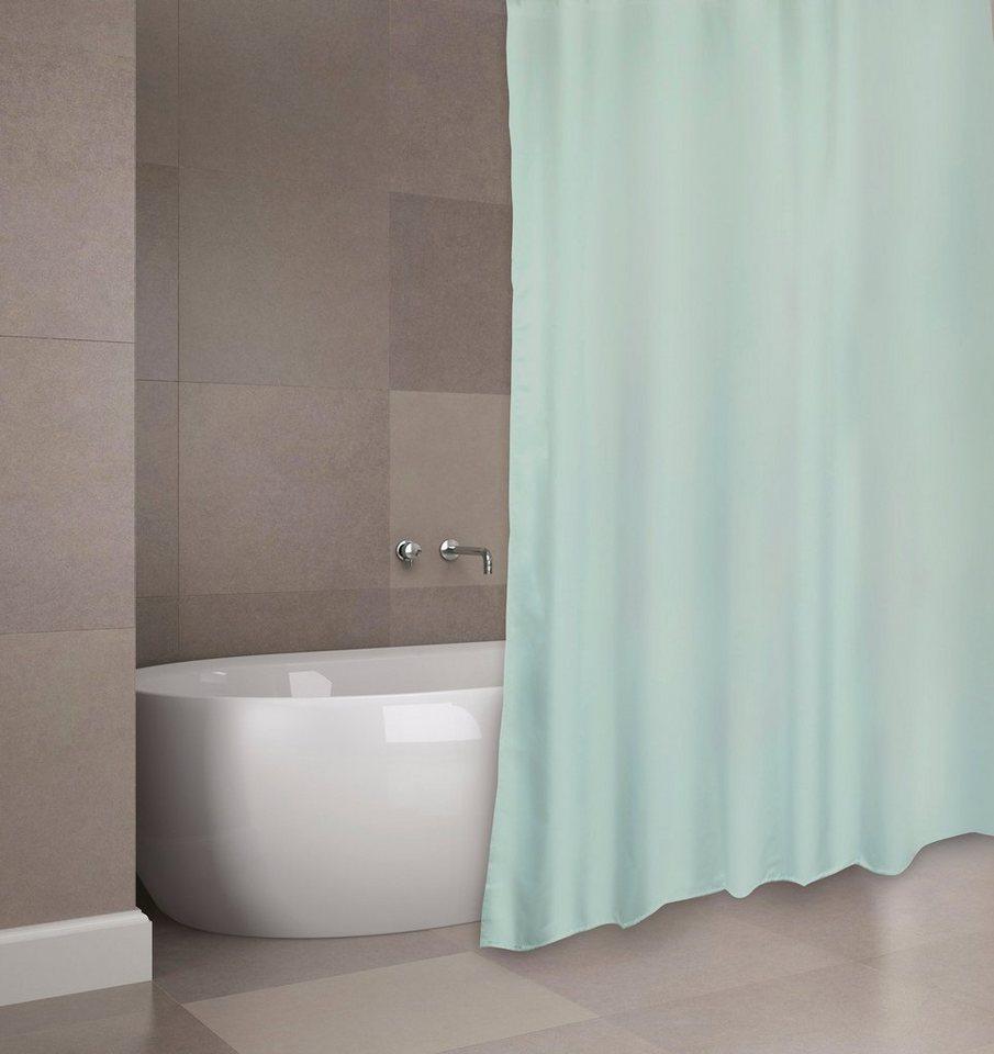Duschen und Zubehör - MSV Duschvorhang »PREMIUM GRÜN«, Breite 180 cm  - Onlineshop OTTO