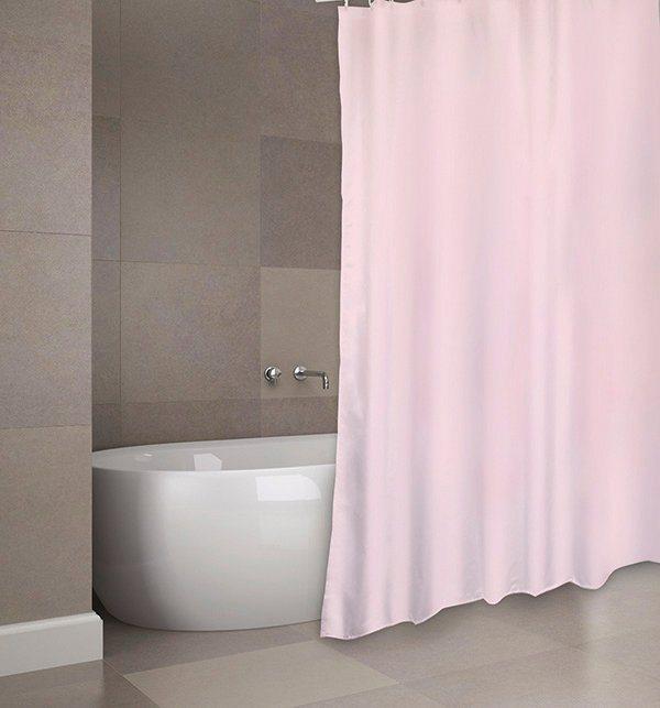 Duschen und Zubehör - MSV Duschvorhang »PREMIUM ROSA«, Breite 180 cm  - Onlineshop OTTO