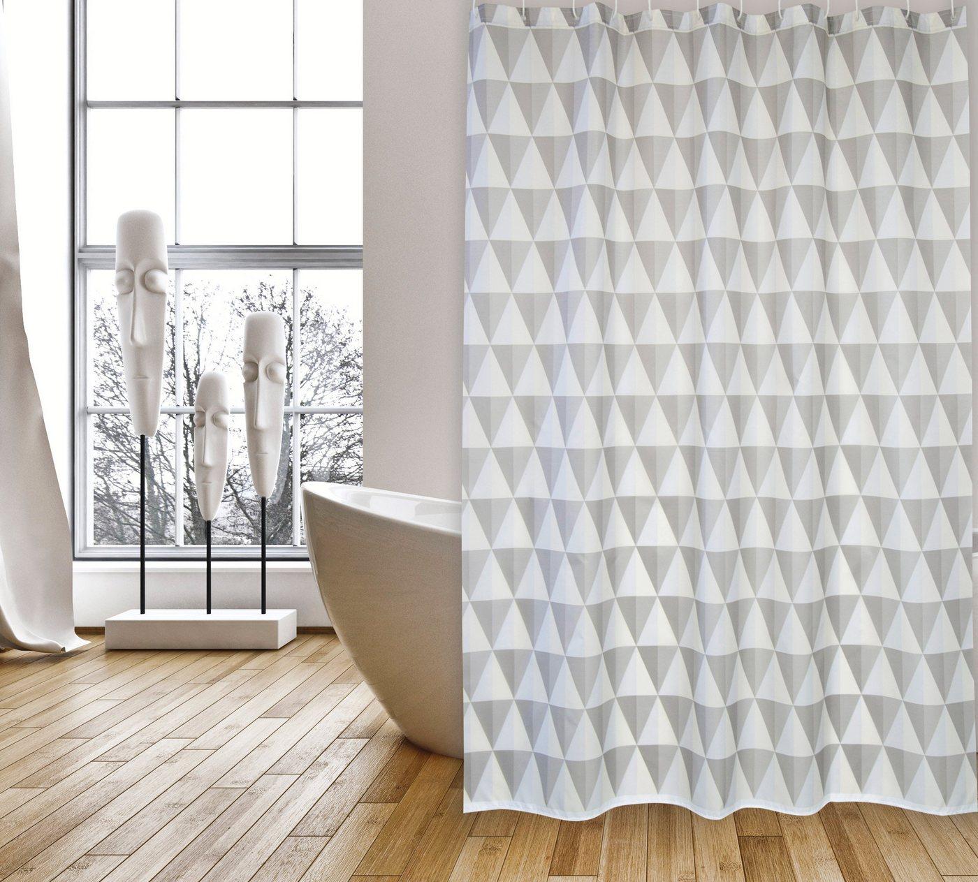 Duschen und Zubehör - MSV Duschvorhang »PREMIUM NAROK«, Breite 180 cm  - Onlineshop OTTO