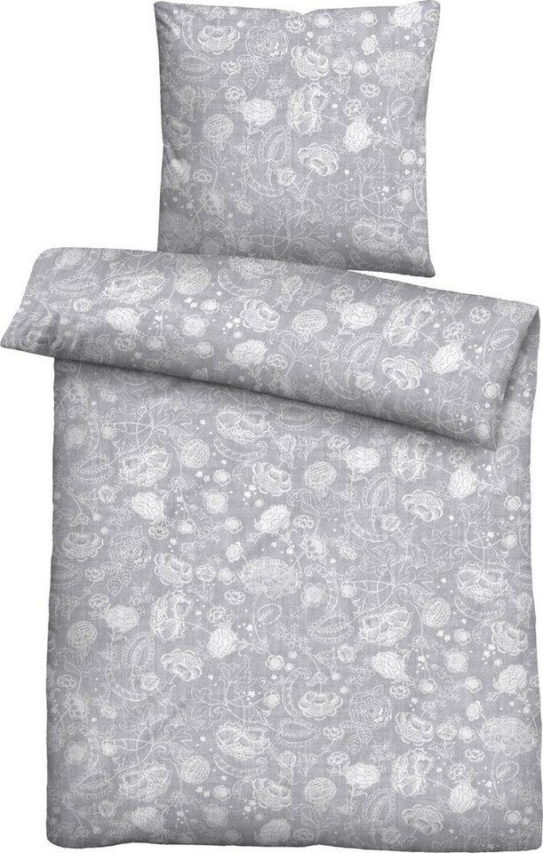 bettw sche maeva biberna mit blumenmuster otto. Black Bedroom Furniture Sets. Home Design Ideas