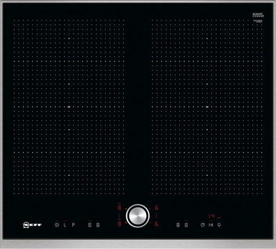 NEFF Flex-Induktions-Kochfeld von SCHOTT CERAN® TTT5660N T56TT60N0, mit TwistPad® Bedienung