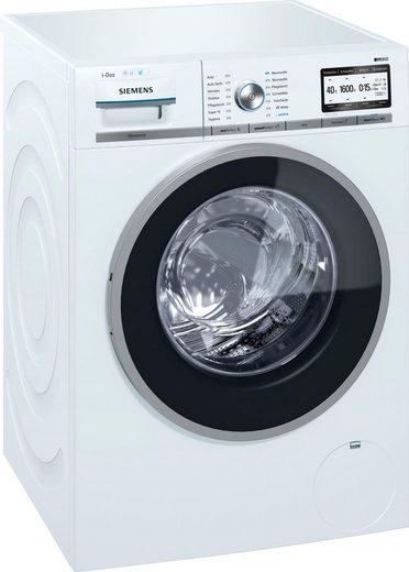 SIEMENS Waschmaschine iQ800 WM6YH841, 8 kg, 1600 U/Min