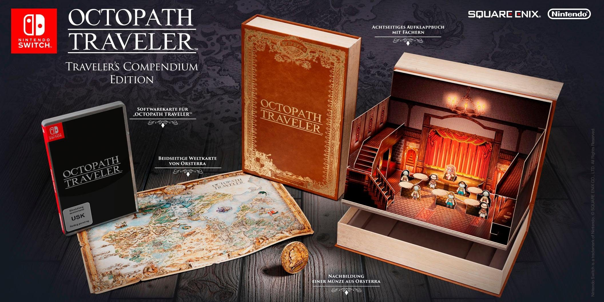 Octopath Traveler Limited Edition Nintendo Switch
