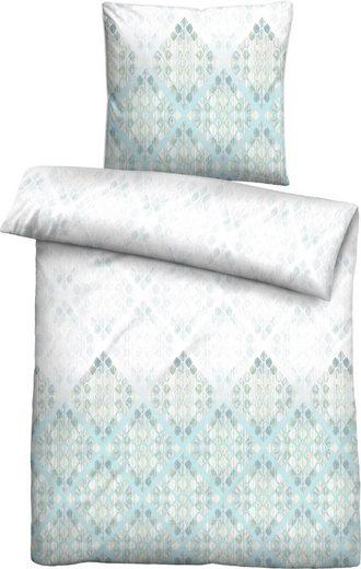 Bettwäsche »Sinja«, Biberna, mit Muster