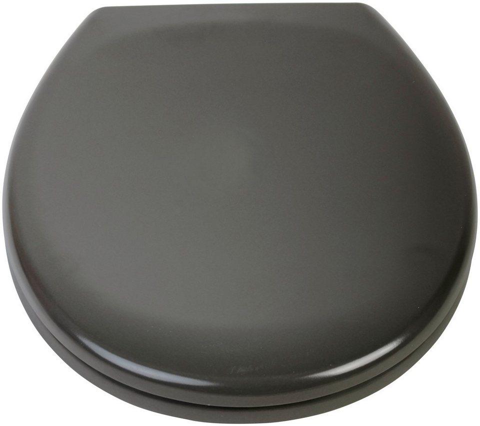 sch tte wc sitz mit absenkautomatik aus hochwertigem und leichtem duroplast online kaufen otto. Black Bedroom Furniture Sets. Home Design Ideas