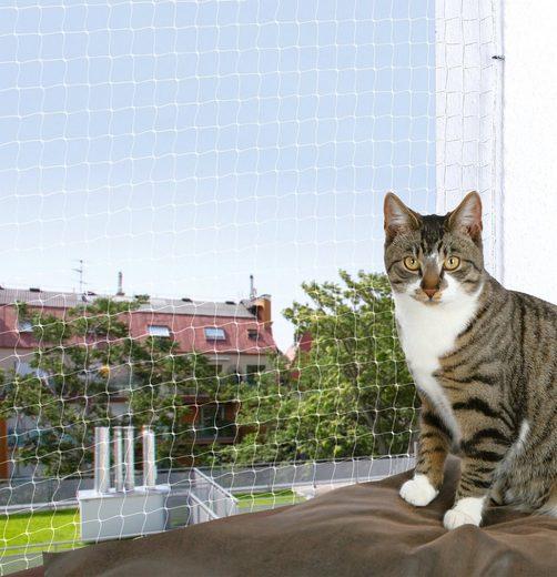Trixie Schutznetz, BxL: 8x3 m, transparent