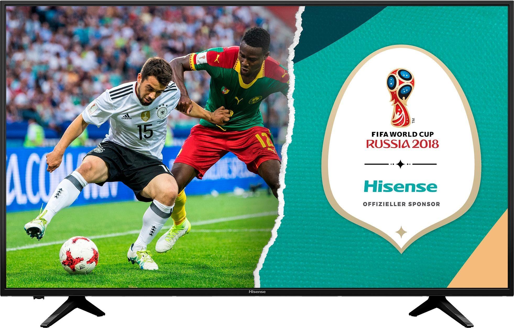 Hisense H50AE6000 LED-Fernseher (50 Zoll, 4K Ultra HD, Smart-TV)