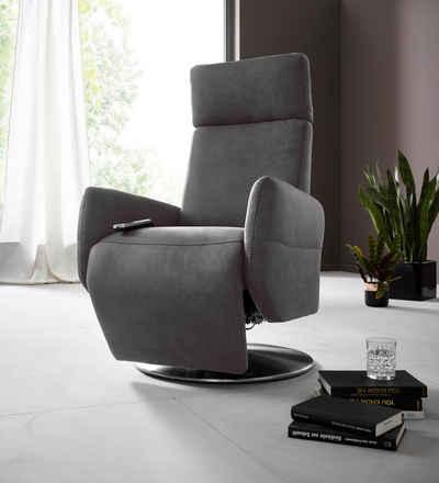 Places of Style Relaxsessel »Kobra«, in Größe L, wahlweise mit Motor und Aufstehhilfe