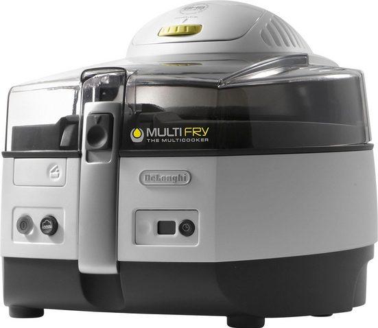 De'Longhi Heissluftfritteuse MultiFry EXTRA FH1363/1, 1400 W, Heißluftfritteuse und Multicooker in einem
