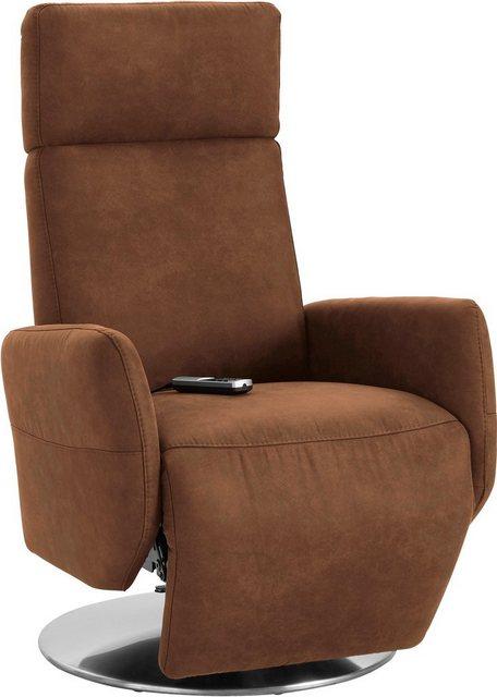 Places of Style Relaxsessel »Kobra«| in Größe L| wahlweise mit Motor und Aufstehhilfe | Wohnzimmer > Sessel > Relaxsessel | Places of Style