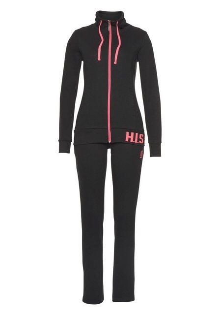 H.I.S Jogginganzug (Set, 2-tlg) | Sportbekleidung > Sportanzüge > Jogginganzüge | H.I.S
