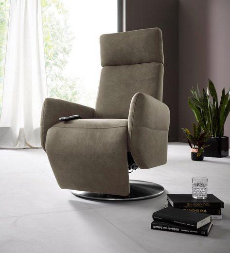 Places of Style Relaxsessel »Kobra«, in Größe S, wahlweise mit Motor und Aufstehhilfe