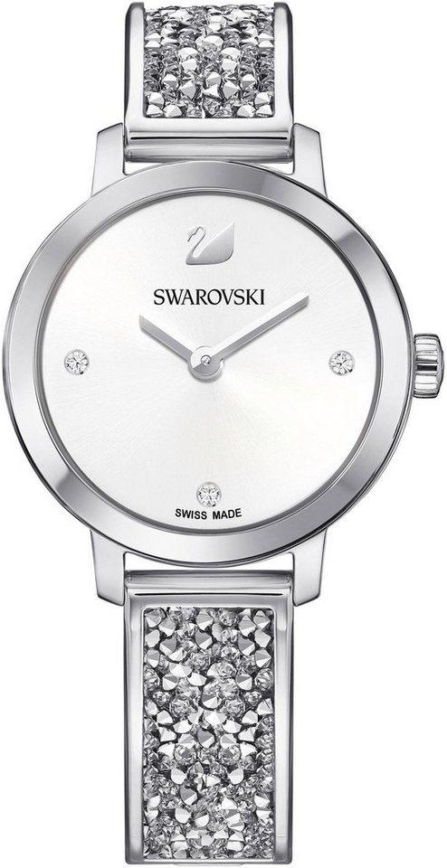 Swarovski Schweizer Uhr »Cosmic Rock Uhr, Metallarmband, weiss, silberfarben, 5376080« | Uhren > Sonstige Armbanduhren | Swarovski