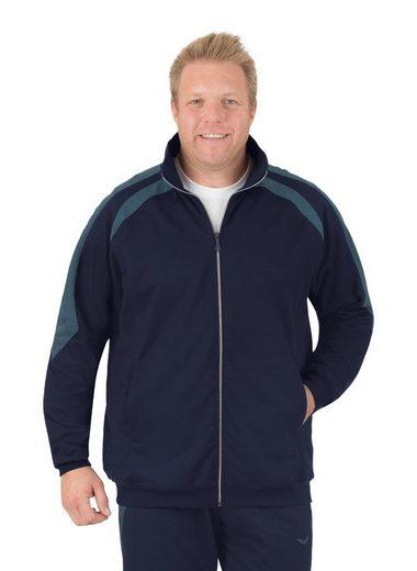 Trigema Raglan-Jacke aus Sweat-Qualität