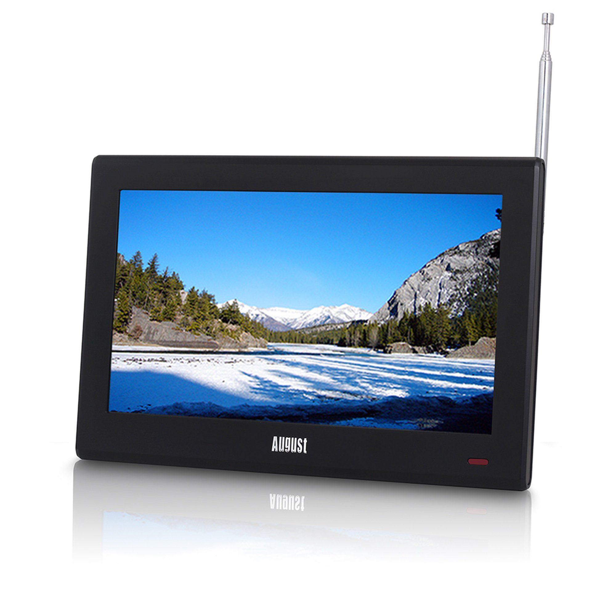 "August Tragbarer 25,66 cm (10"") LCD Fernseher mit DVB-T2 »DA100D«"