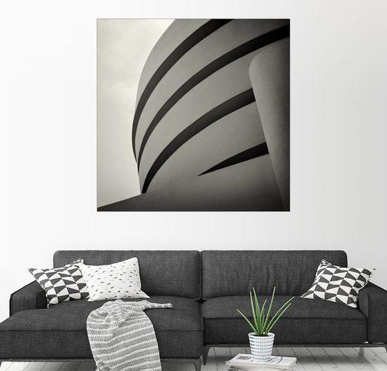 Posterlounge Wandbild - Alexander Voss »New York City - Guggenheim Museum (Analogfoto...«