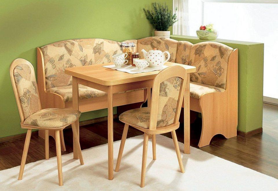 eckbankgruppe 160 120 cm 4 teilig kaufen otto. Black Bedroom Furniture Sets. Home Design Ideas