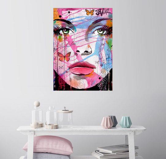 Posterlounge Wandbild - Loui Jover »lust life«