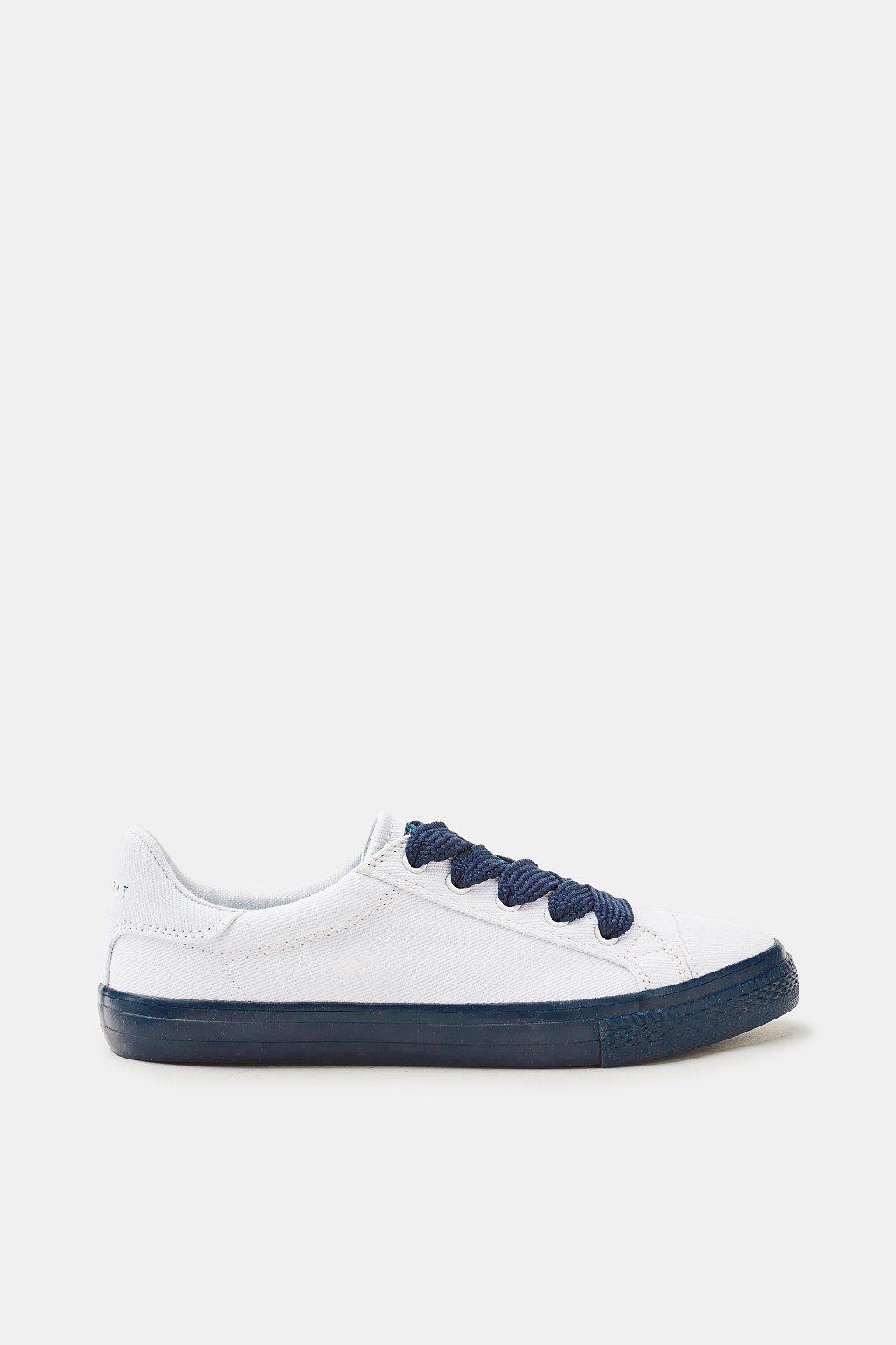ESPRIT Canvas-Sneaker mit breiten Web-Schnürbändern online kaufen  NAVY