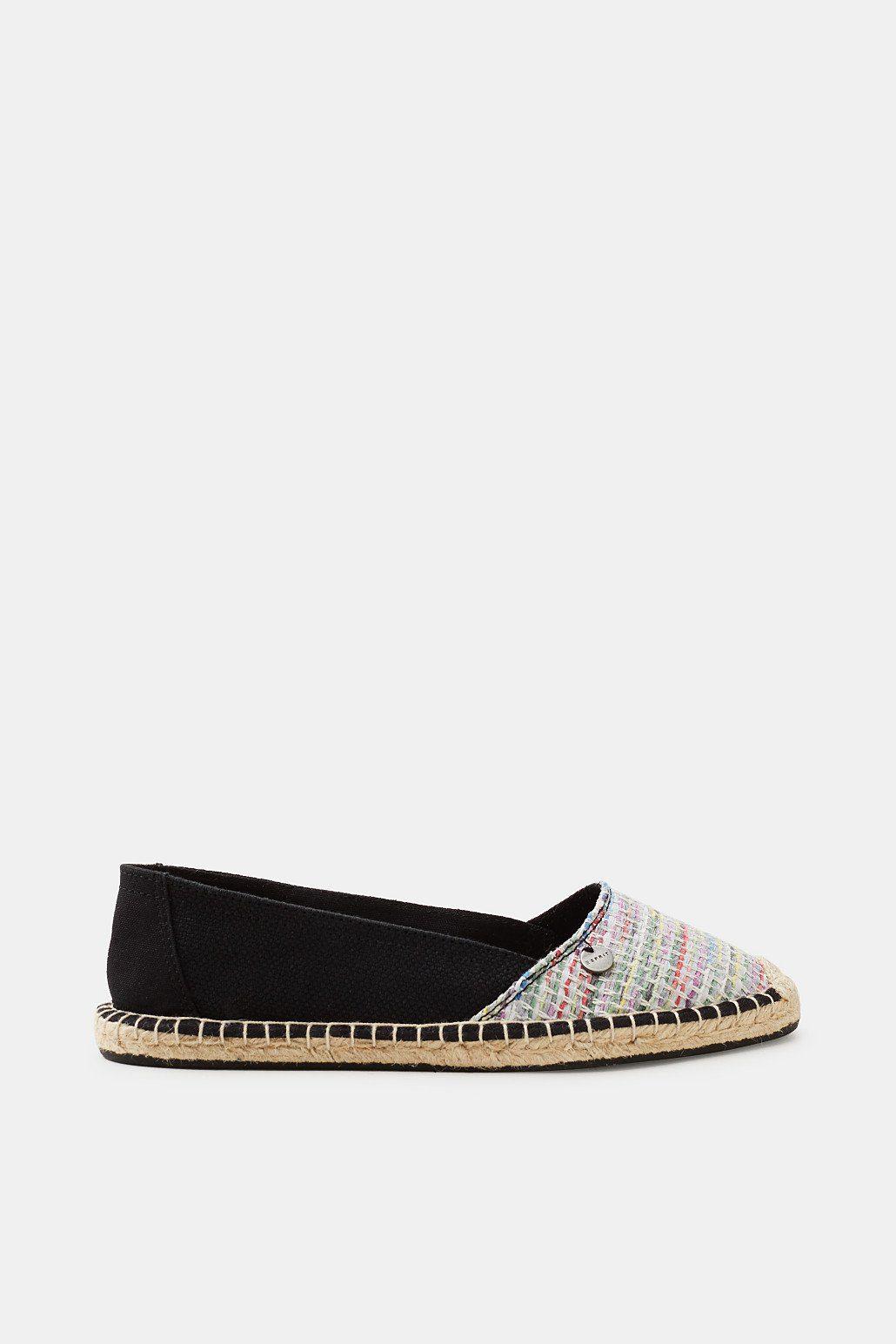 ESPRIT Espadrilles im farbenfrohen Web-Look kaufen  BLACK