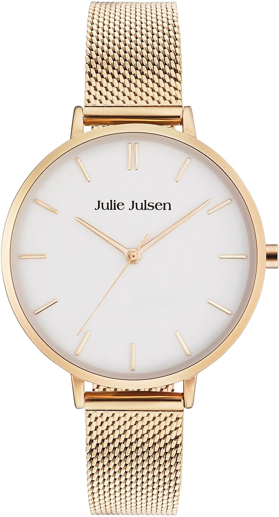 Julie Julsen Quarzuhr »Pure Gold Mesh, JJW10YGME«
