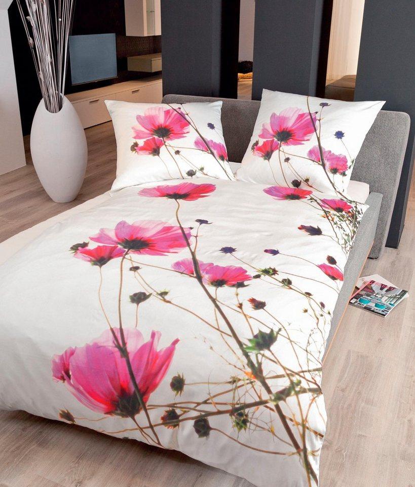 bettw sche edoardo janine mit blume kaufen otto. Black Bedroom Furniture Sets. Home Design Ideas