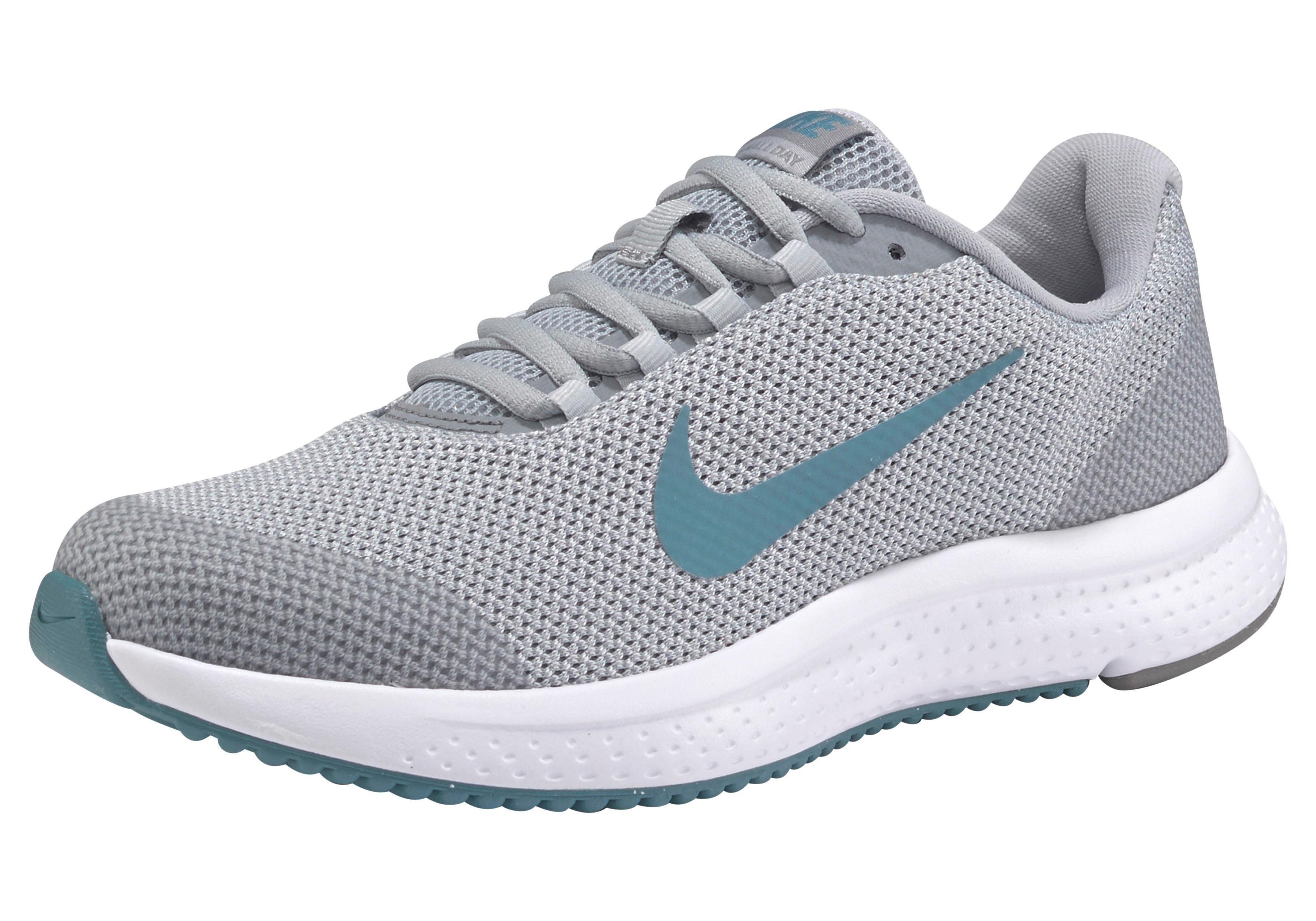 Nike Wmns Runallday Laufschuh online kaufen  grau-türkis