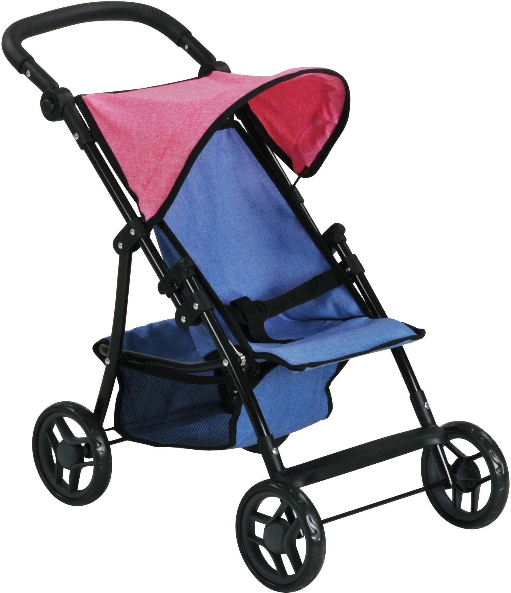 knorr toys Puppenbuggy, »Liba - jeans blue«