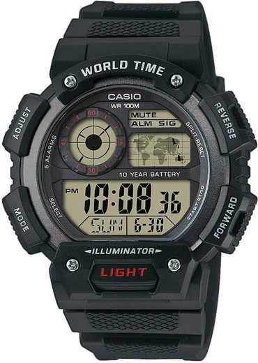 Casio Collection Chronograph »AE-1400WH-1AVEF«