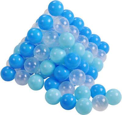 Knorrtoys® Bällebad-Bälle »soft blue + white«